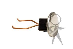 Hub Cap Puller/Jack Hole Plug, Chrome - 000-093-001