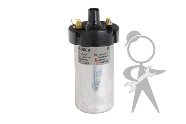Coil, 12 Volt Bosch w/Hall System - 00041
