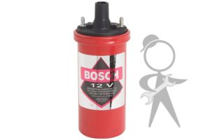 Coil, 12 Volt Bosch w/Hall System - 00061
