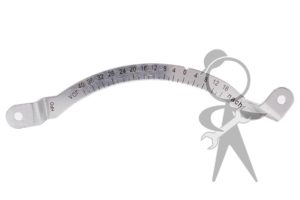 Timing Scale, Metal - 021-119-249 CM