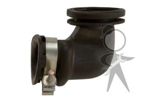 Elbow, Alternator Air Exhaust, 55amp Alt - 021-903-655 B