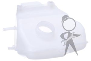 Tank, Coolant Recovery Behind Lic Plate - 025-121-403