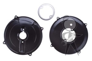 Backing Plate Kit, Alt/Gen, Black, 12V - 043-198-261