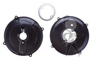 Backing Plate Kit, Alt/Gen, Black, 12V - 043-198-261