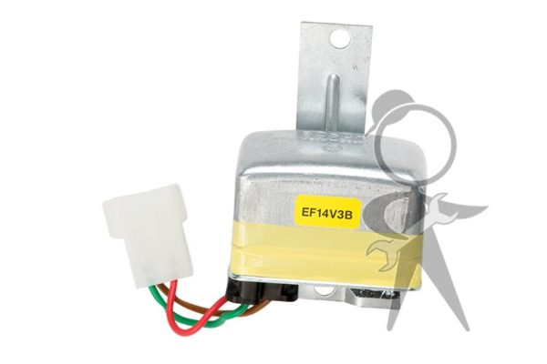 Voltage Regulator, Hella, Alt Models - 043-903-803 A