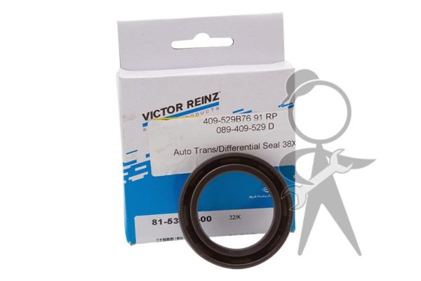 Auto Trans/Differential Seal 38X54X7 - 089-409-529 D