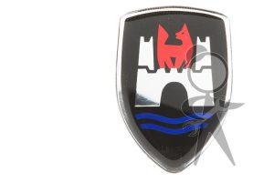 Sticker, Wolfsburg Crest - 111-001-115