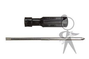 Screwdriver, reversable, Slot/Phillips - 111-012-255