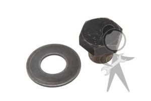 Crank Pulley Bolt w/Washer - 111-105-263 AW