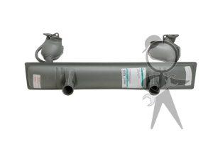 Muffler, 40 HP (1200), Denmark (FA) - 111-251-051 H DK
