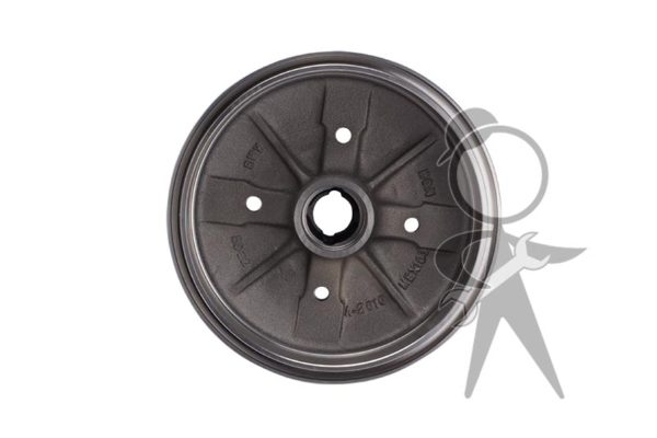 Brake Drum, Front, 4 Lug Style, Brzl/Mexico - 111-405-615 B BR