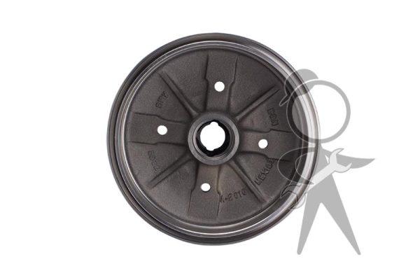 Brake Drum, Front, 4 Lug Style, Brzl/Mexico - 111-405-615 B BR