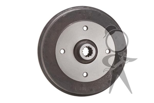 Brake Drum, Front, 4 Lug Style, ATE Italy - 111-405-615 B IT