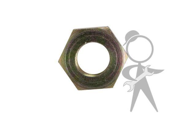 Hex Nut, Frt Axle, Right & Strg Wheel - 111-405-672