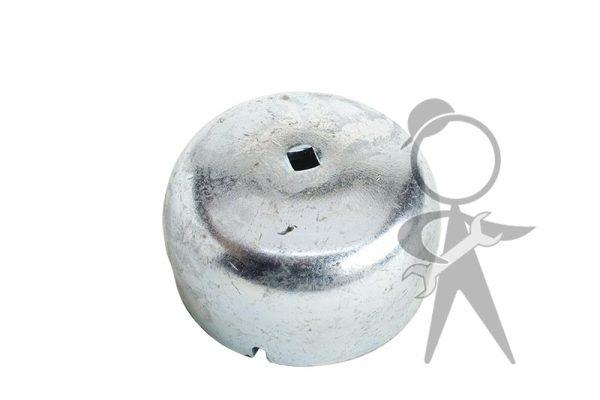 Dust Cap, Frt Wheel Bearing, Left w/Hole - 111-405-691