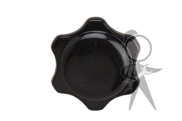 Knob, Heater Control, Black - 111-711-623 A BK