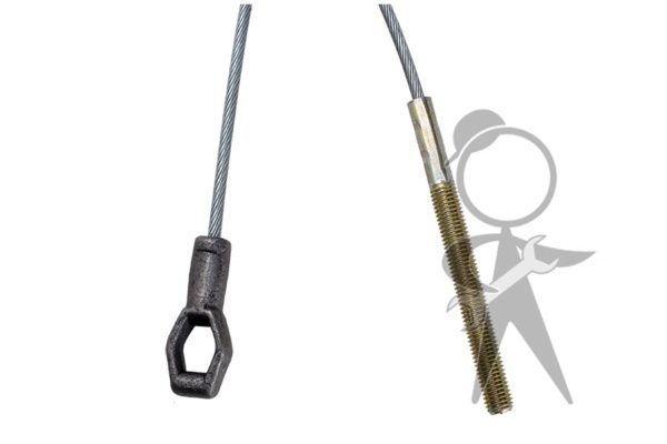 Clutch Cable, German, 2281mm - 111-721-335 C GR