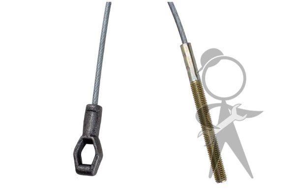 Clutch Cable, German, 2268mm - 111-721-335 E GR