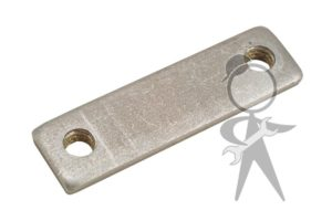 Threaded Plate, Deck Lid Hinge, L or R - 111-827-171