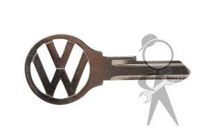 """Key, SG Series,""""VW"""" Logo (S60) - 111-837-219 A SG"""