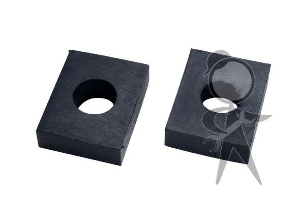 Pad, Body-to-Frame 10mm, Rear, Pair - 111-899-117 B PR