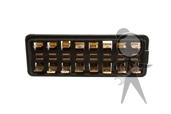 Fuse Box (8-Fuse), w/o Cover - 111-937-037