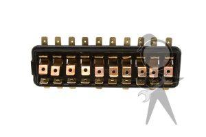 Fuse Box (10-Fuse), w/o Cover - 111-937-505 F