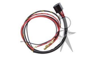 Harness & Plug, Ignition Switch - 111-998-631
