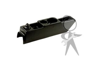 Center Console, Black Plastic - 113-042-064