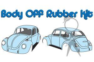 """""""Body Off"""" Rubber Kit, Std Bug - 113-119-100 E"""