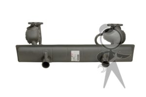 Muffler, Dual Heat Riser, Calif Model - 113-251-053 BG