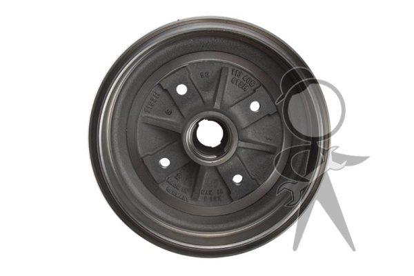 Brake Drum, Front w/Centering Hub, Italian - 113-405-615 H GR