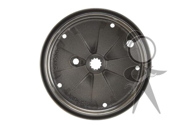 Brake Drum, Rear, German - 113-501-615 D GR