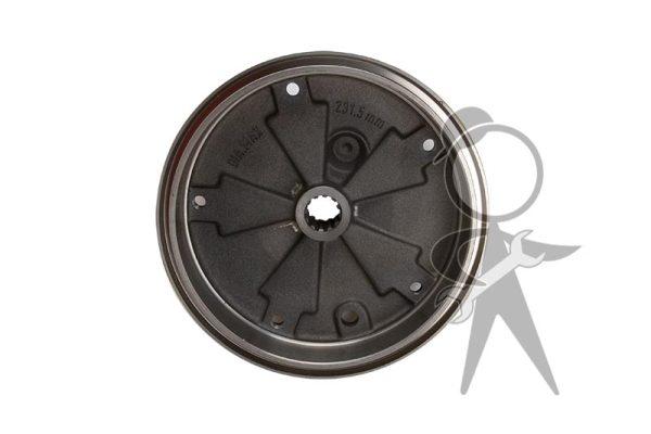 Brake Drum, Rear, Italy - 113-501-615 D IT