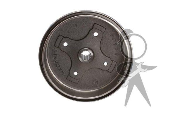 Brake Drum, Rear, ATE/OMC Italy - 113-501-615 J IT