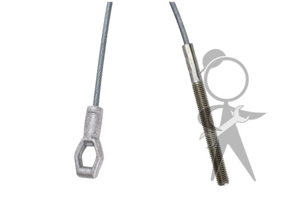 Clutch Cable, Mexico, 2260mm - 113-721-335 A ME