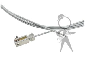 Cable, Front Hood - 113-823-531 G