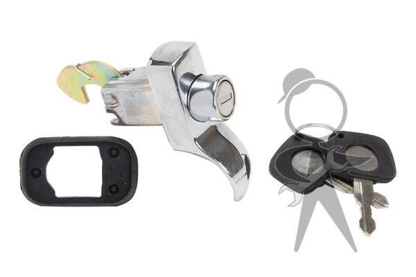 Handle, Deck Lid, Locking w/Keys - 113-827-503 F