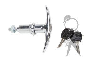 Deck Lid T-Handle, Locking w/Keys - 113-827-571 D