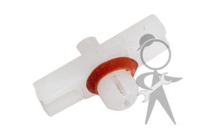 Clip, Body Molding, Plastic w/Red Washer - 113-853-585 C