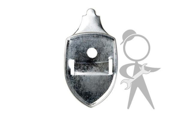 Base Plate, Hood Crest - 113-853-631 B