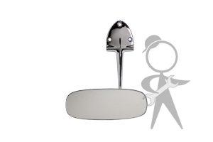 Mirror, Interior, Beetle Sedan, Chrome - 113-857-511 K CR