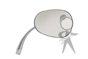 Mirror, Side View, Pear Shape, Right - 113-857-514 A