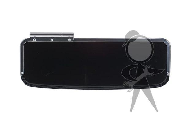 Sun Visor, Black Plastic - 113-857-515