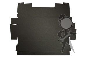 Trunk Liner, Blk Hardboard, Upper - 113-863-507 D GR