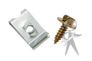 Hardware/Install Kit, Bumper End Cap - 113-898-065