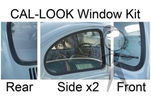 Cal Look 4Pc Window Rubber Kit - 113-898-121 ACL