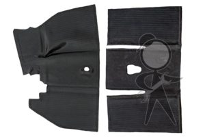 Floor Mat Set, Rubber, Overall Style F/R - 113-898-703 K