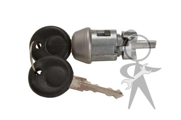 Ignition Lock Cylinder w/Keys - 113-905-855 B OE