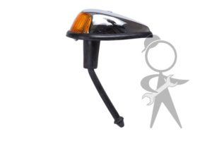 Turn Signal Assembly, Amber Lens, L or R - 113-953-041 J BR